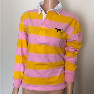Pink Victoria's Secret long sleeves cotton top